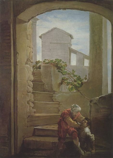 Domenico Fetti, c. 1620: Parable of the Unforgiving Servant