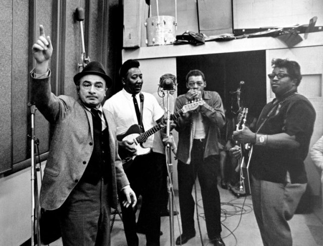 Phil Chess (left) has died, one of the founders of Chess Records in Chicago, an independent label that recorded Bo Diddley, Muddy Waters, Little Walter and a constellation of other African-American pioneers of the Gospel-blues-soul fusion that became rock 'n' roll, inspiring the Beatles, the Rolling Stones and other stars who followed. The company and Chess's brother Leonard were inducted into the Rock 'n' Roll Hall of Fame despite the brothers' frank admission that they didn't know a thing about music. But they knew what sold and what nobody else was putting out, and the acclaim that followed was gratifying. (Michael Ochs Archives)