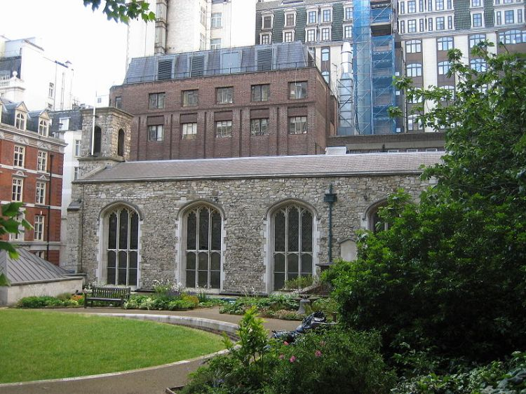 Savoy Chapel, London, official home of the Royal Victorian Order. (Wikipedia)