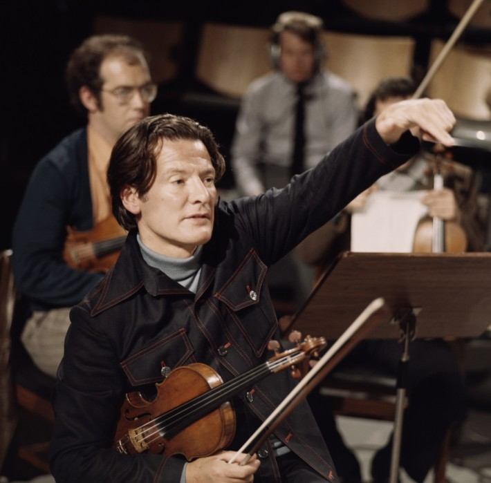 Sir Neville Marriner has died, the violinist and conductor who founded the Academy of St. Martin in the Fields, a London-based chamber orchestra which made over 200 recordings, many of them best sellers. The troupe was named by an enterprising Vicar in the 1950s, who traded free rehearsal space for what are now called naming rights. The Academy developed a crisp, clear sound which took the classical world by storm – not least because Marriner picked up the tempo and made the music sound young again. He was also music director of the Los Angeles Chamber Orchestra and the Minnesota Orchestra. (Eric Auerbach)