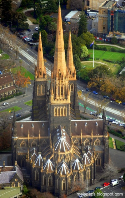 St. Patrick's Roman Catholic Cathedral and Minor Basilica, Melbourne. (melsnaps blog)