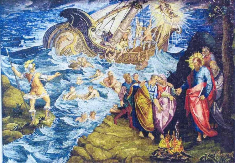 St. Paul Shipwrecked at Malta (The Happy Hermit blog)
