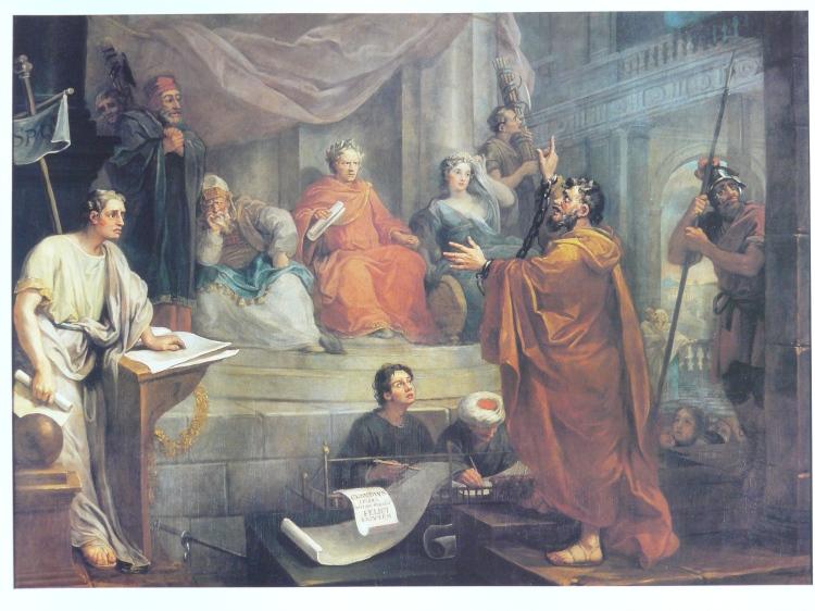 William Hogarth, 1752: Paul Before Felix