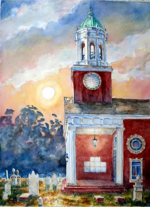 Randy Lambeth: St. Paul's, Augusta, Georgia, established in 1750.