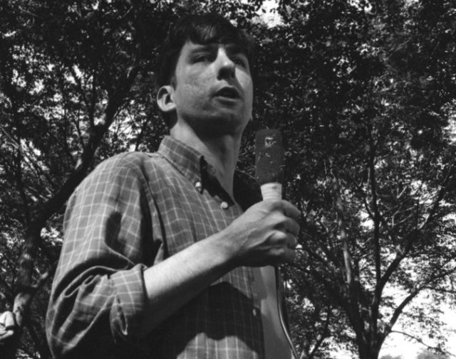 Tom Hayden became famous in 1968 as one of the Chicago 7, who were arrested and blamed for a police riot against antiwar demonstrators during the Democratic National Convention. But he was a peace, justice and civil rights activist long before that and long afterward. Raised Catholic, he discovered student activism at the University of Michigan, joined the Freedom Riders in 1960, met Martin Luther King Jr. and the Kennedys, and helped register African-American voters in the South. After his mentors were assassinated he turned his focus to opposing the Vietnam War, going so far as to appear in a Communist propaganda movie with then-wife Jane Fonda, which he later regretted. He ran for high office several times, kept losing and narrowed his sights to local issues, winning a seat in the California state legislature and serving for 20 years on neighborhood, consumer and energy issues. (Michael Ochs Archives)