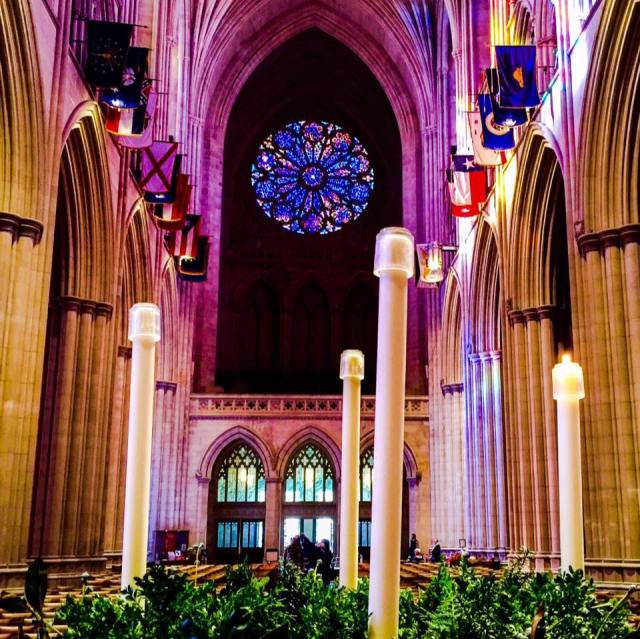 Washington National Cathedral, Advent 2015. (Chris Garten)