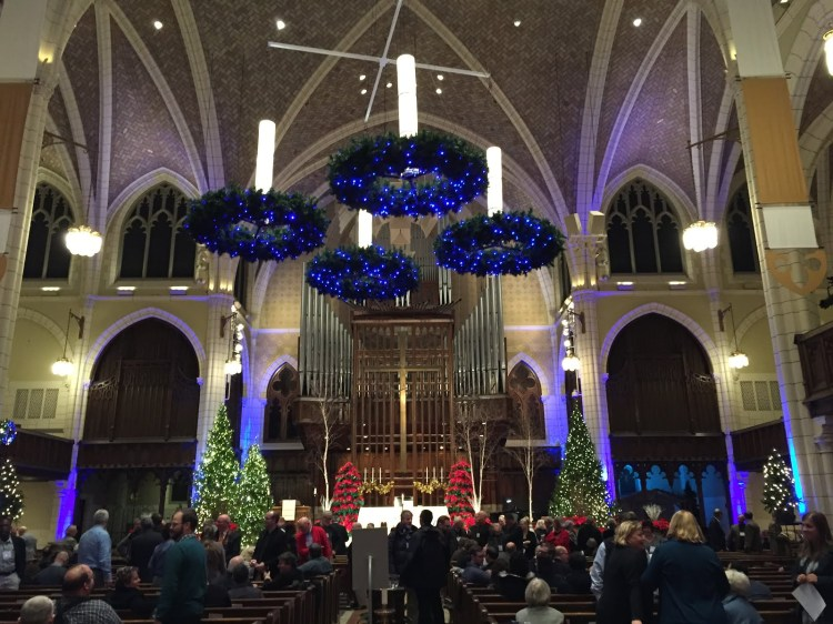 The first Sunday of Advent is the beginning of the new church year; it anticipates the birth of Jesus at Christmas, and his return to Earth on the Day of Judgment. Advent season consists of four Sundays; every Sunday we light another candle to mark the passage of time until Jesus comes. (vergersvoice.org)