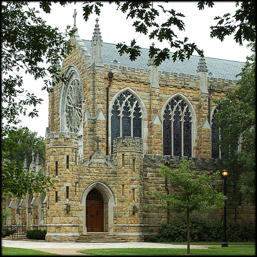All Saints' Chapel at Sewanee: The University of the South in Tennessee, an Episcopal liberal arts college and seminary. (via the Rev. Michael Hartney)