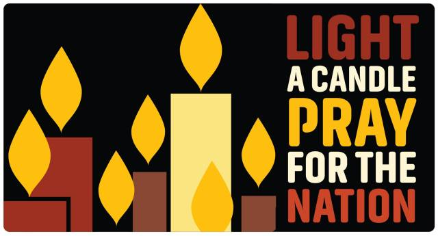 """At midnight Monday morning we begin offering a virtual chapel for prayers concerning the U.S. elections. """"Light a Candle, Pray for the Nation"""" will be pinned to the top of our homepage for the next 48 hours. To find our latest Morning or Evening Prayer, just scroll down. (Diocese of Indianapolis)"""