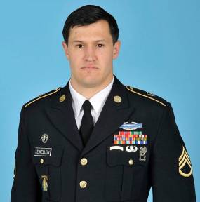 Staff Sgt. Matthew Lewellen was a native of Kirksville, Missouri and attended Truman State University and the University of Kansas. He was on his second overseas tour. (Army photo)