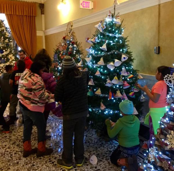 "The Rosebud kids decorated their tree with Lakota tipis and a slogan reading ""No DAPL,"" the Dakota Access oil pipeline which would run right next to their cousins on the Standing Rock Reservation. You can bet that got noticed in Pierre; a monthslong standoff between Native protesters and police has generated national headlines, with police increasingly accused of brutality. (The Rev. Lauren R. Stanley)"