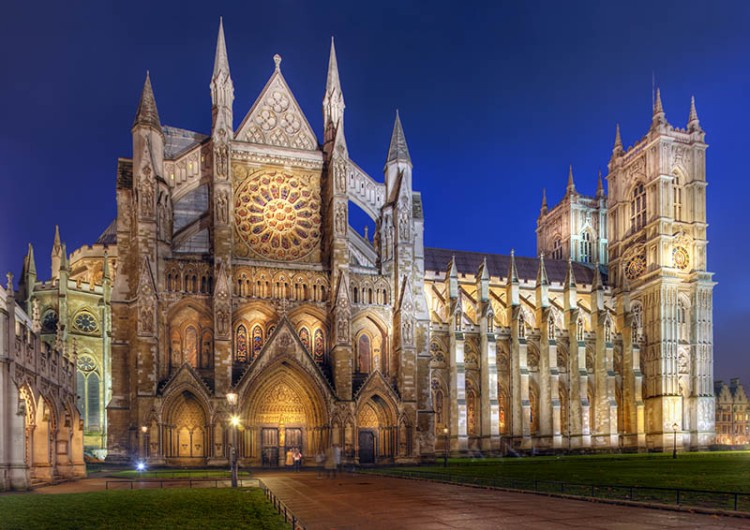 The Collegiate Church of St Peter: Westminster Abbey, London.
