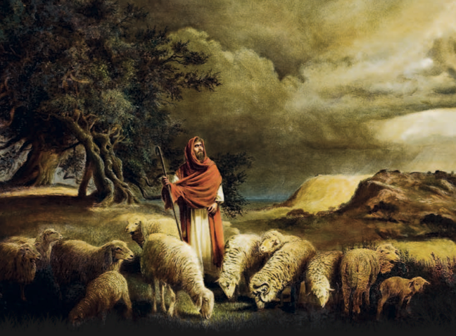 Zechariah the bad shepherd. (Layman's Bible blog; artist unknown)