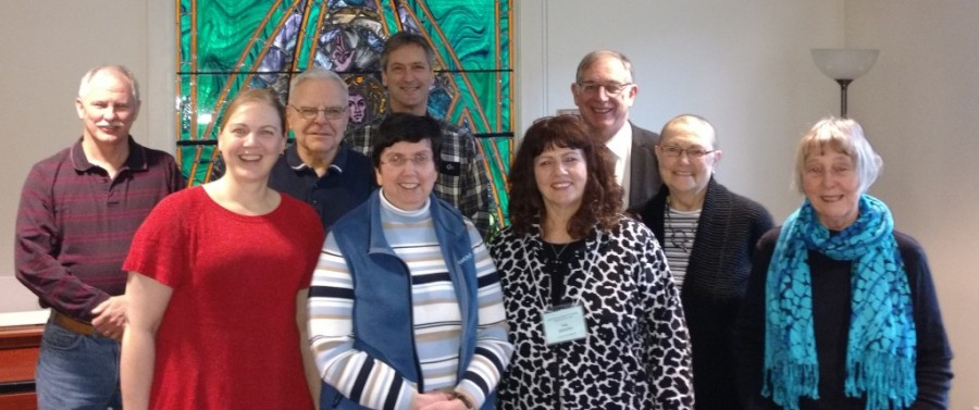 Members of the executive committee of the Anglican Fellowship of Prayer in Canada. (from their website)