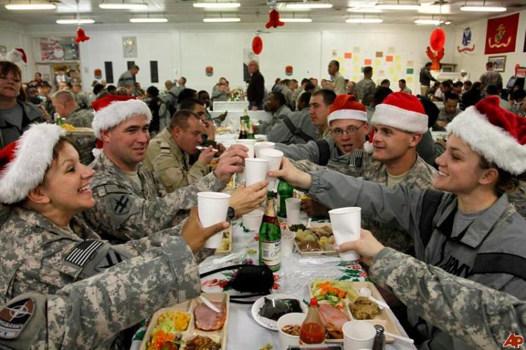 Christmas in Afghanistan, 2011 (Associated Press)