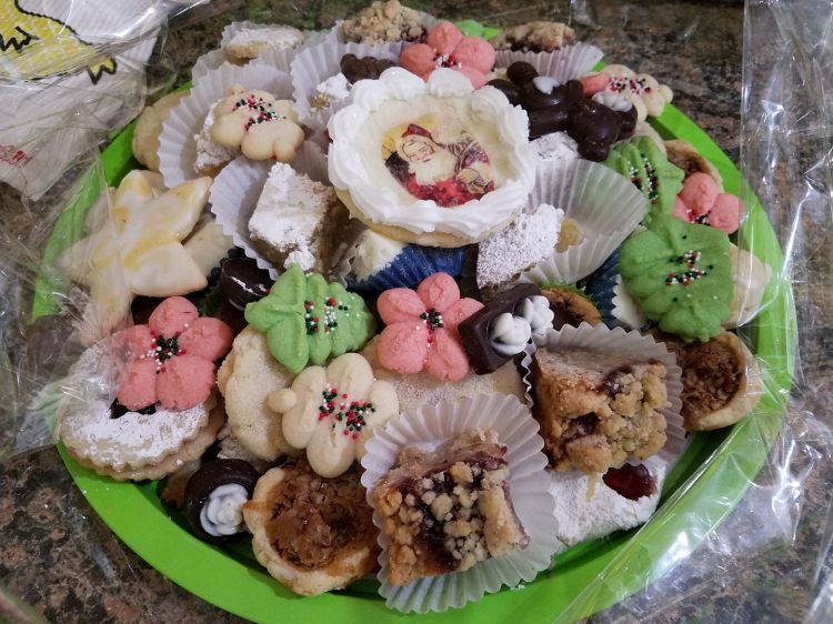 Not just Christmas cookies - Theobald Christmas cookies. (The Rev. Maria L. Evans)