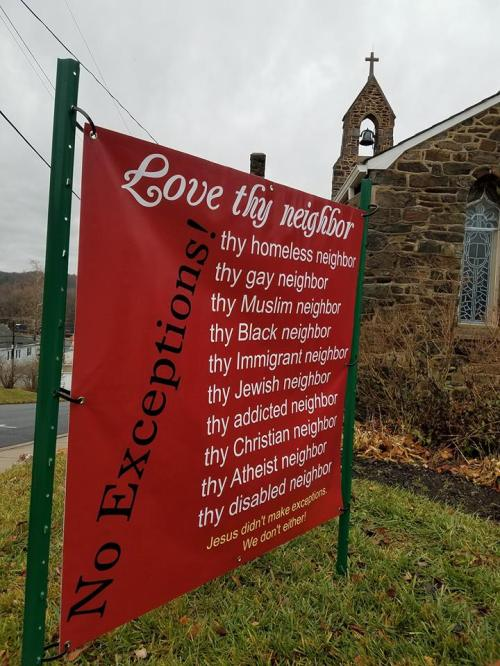 Grace Church, Brunswick, Maryland, this week. (The Rev. Anjel Scarborough)