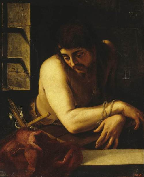 Juan Fernandez de Navarette, c. 1570: John the Baptist in Prison (The Hermitage, St. Petersburg)