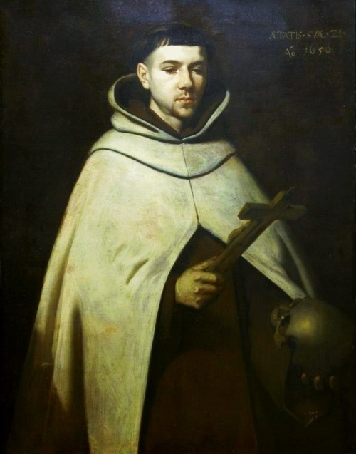"Francisco de Zurbarán: John of the Cross. A conflict within the Carmelite religious order - he and his friend St. Teresa of Avila favored a stricter observance than the General Chapter was willing to grant - led to his being seized and being imprisoned in Toledo, where he spent his time writing luminous poetry such as The Spiritual Canticle. He wrote also about the ""dark night of the soul,"" in which even the most faithful seeker of God can experience alienation, doubt and temptation. It must be faced and endured, he said, as the final assault of the enemy."