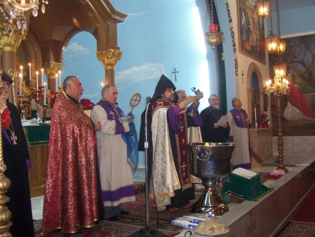Christmas in Armenia, 2013; they use the Old Calendar and will celebrate it this year on January 7.