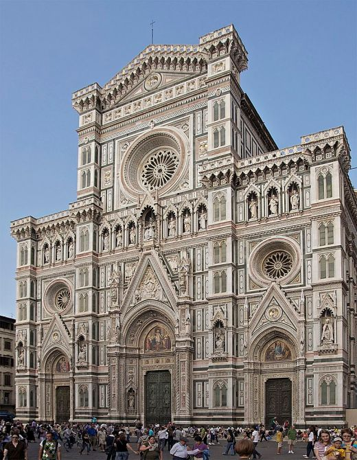 The Duomo, Florence (Wikipedia)