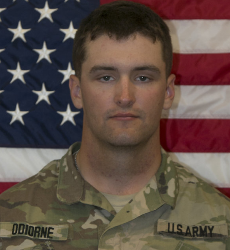 Brian P. Odiorne, of Palmer, Massachusetts, was killed in Al Anbar province, Iraq, on 20 February. His death was not combat related, but details of how he died have not been disclosed. Odiorne, 21, joined the Army in October 2015 and was assigned to the 2nd Battalion, 82nd Field Artillery Regiment, 3rd Brigade Combat Team, 1st Cavalry Division, Fort Hood, Texas, since May 2016. He was trained as a cannon crew member. His decorations include the National Defense Service Medal, Global War on Terrorism Service Medal and Army Service Medal. He will be posthumously awarded the Inherent Resolve Campaign Medal and Overseas Service Ribbon.