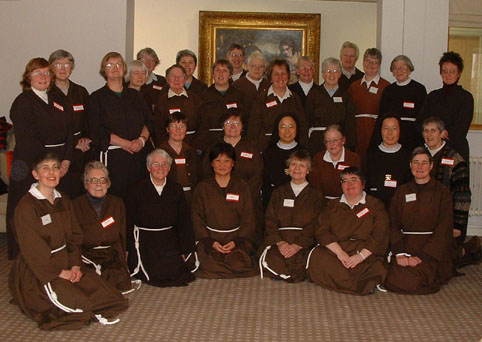Members of the Community of St. Francis gathered for their centenary in 2005. (Wikipedia)