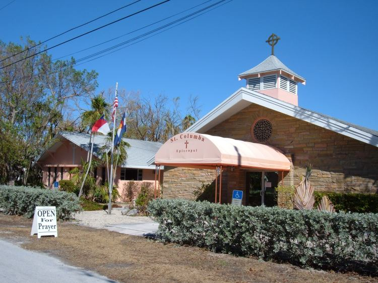St. Columba's, Marathon, Florida: open for prayer. (The Rev. Michael Hartney)