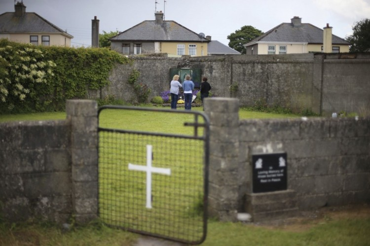 This is the location of as many as 800 mass graves of infants, toddlers and fetuses, which have now been confirmed at the Mother and Baby Home run by the Sisters of Charity of Bon Secours in Tuam, Ireland, dumped in a large tank at the sewage treatment plant. (Press Association)